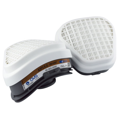 GVS Respirator Mask Elipse A2-P3 RD Replacement Filters