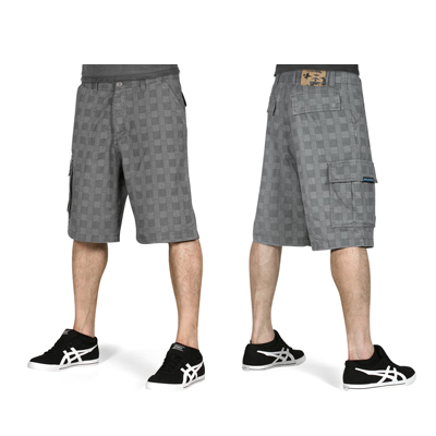 EIGHT MILES HIGH Shorts ENDLESS SUMMER grey check