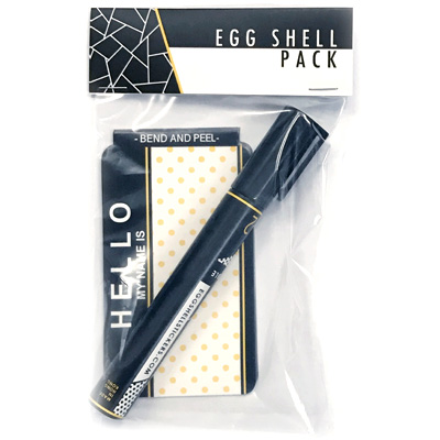 EGG SHELL Sticker & Marker Pack ES-2