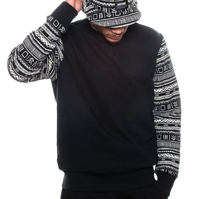 WRUNG Sweater ETNY black/white
