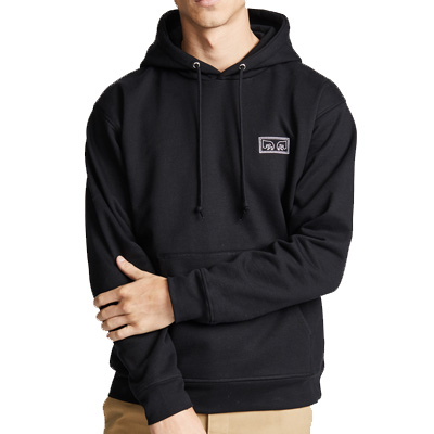 OBEY Hoody EYES black