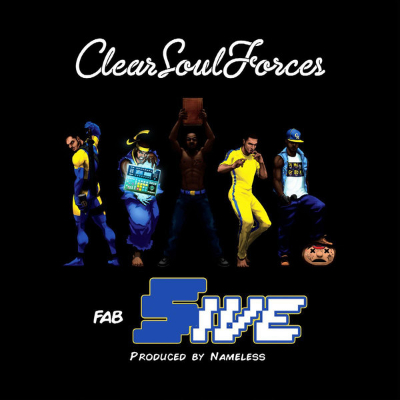 Clear Soul Forces - Fab Five - 2xLP Incl Download