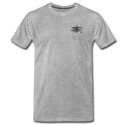 FARBTUBE T-Shirt heather grey