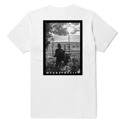 WE ARE THE CITY T-Shirt VANDALZ - FENCE white