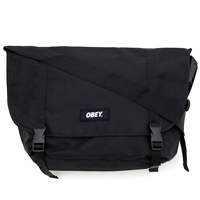 OBEY Bag FIELD MESSENGER black