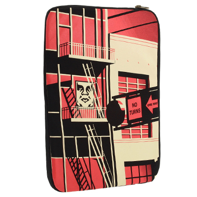 OBEY Laptop Case FIRE ESCAPE 15""