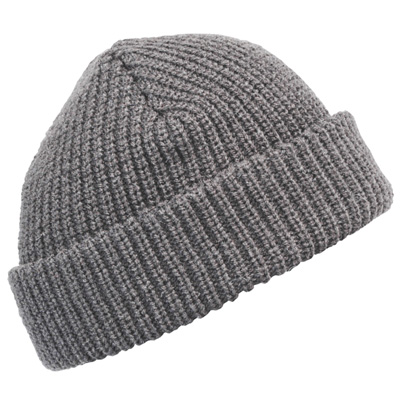 MASTERDIS Beanie FISHERMAN II heather grey