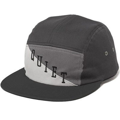 THE QUIET LIFE 5Panel Cap FLAG black/silver/grey