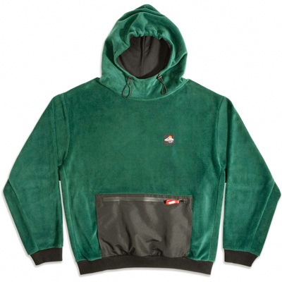 GOODBOIS Fleece Hoody CLOUD FRST green