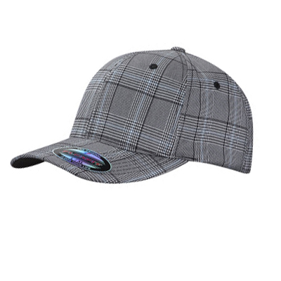 FLEXFIT Original Cap PLAID black/white