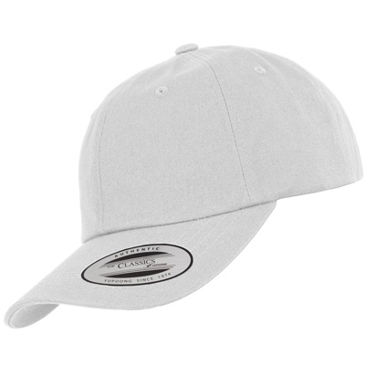 FLEXFIT Low Profile Baseball Cap white