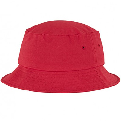 FLEXFIT Bucket Hat uni red