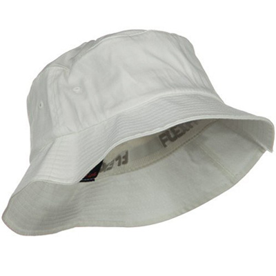 FLEXFIT Bucket Hat uni white