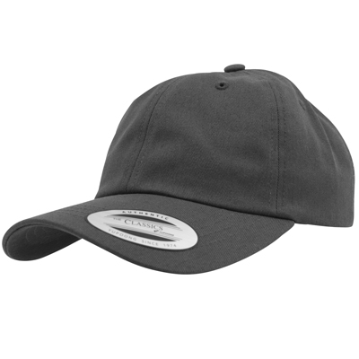 FLEXFIT Low Profile Baseball Cap dark grey