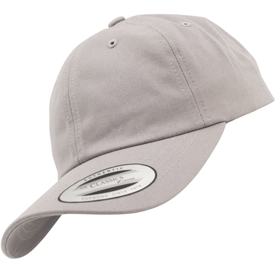 FLEXFIT Low Profile Baseball Cap silver
