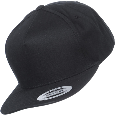 FLEXFIT Snap Back Cap uni black