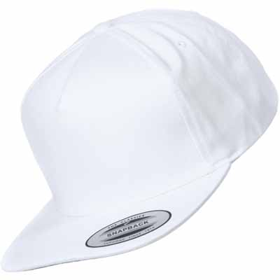 FLEXFIT Snap Back Cap uni white