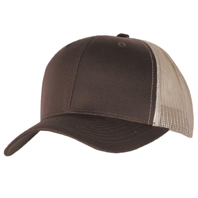 YUPOONG Retro Trucker Cap brown/khaki