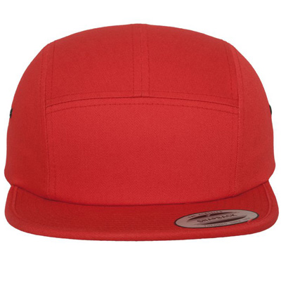 FLEXFIT 5Panel Cap CLASSIC JOCKEY uni red