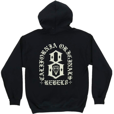 REBEL8 Hoody FORTITUDE black