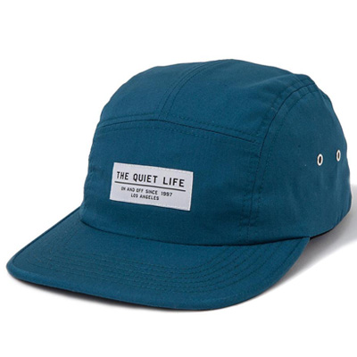 THE QUIET LIFE 5Panel Cap FOUNDATION carribbean blue