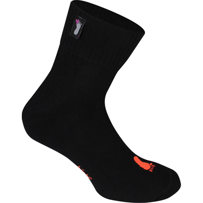 FUSSVOLK Socks HALF black