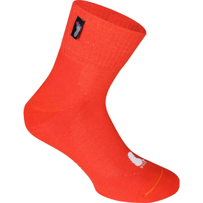 FUSSVOLK Socks HALF orange