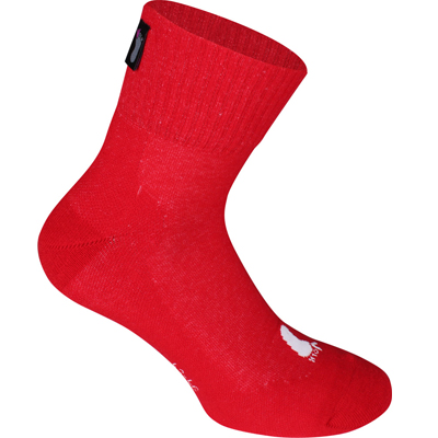 FUSSVOLK Socks HALF red