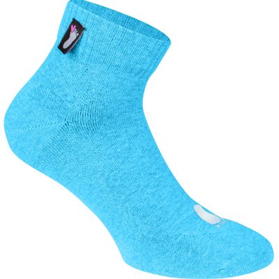 FUSSVOLK Socks QUARTER ice blue