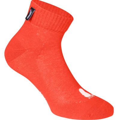 FUSSVOLK Socken VIERTEL orange