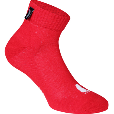 FUSSVOLK Socks QUARTER red