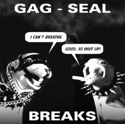 Dj Q-Bert - Gag-Seal Breaks - Ep