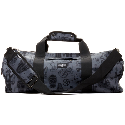 REBEL8 Duffle Bag GIANT FLASH dark grey