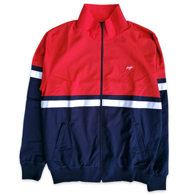 WRUNG Track Jacket GIO navy/red/white