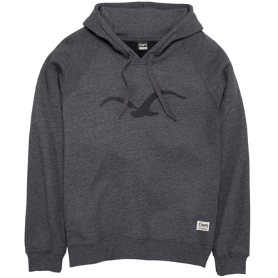 CLEPTOMANICX Girl Hoody MÖWE 3 heather black