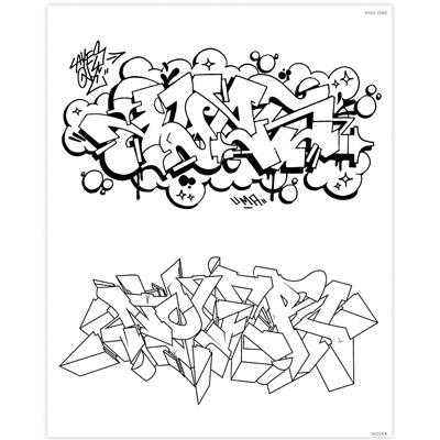 GRAFFITI STYLE Malbuch - Graffiti Bücher