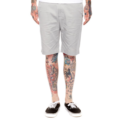 REBEL8 Shorts WORK ash heather