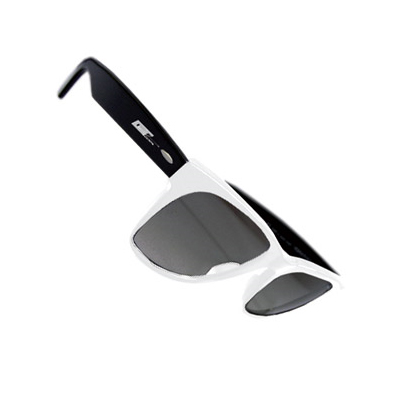 GROOVE SHADES TWO Sunglasses White-Black