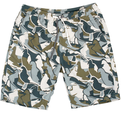 CLEPTOMANICX Board Shorts JAM gully green