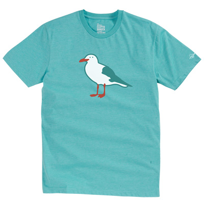 CLEPTOMANICX T-Shirt GULL heather dusty