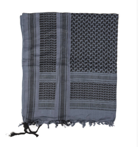 SCARF Shemagh blue