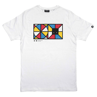 HEROKID T-Shirt HAND MIXED white