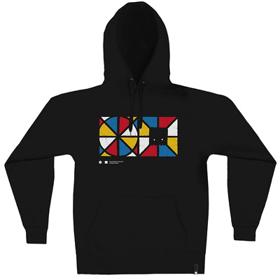 HEROKID Hoody HAND MIXED black