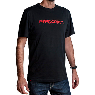 MONTANA COLORS T-Shirt HARDCORE black/red