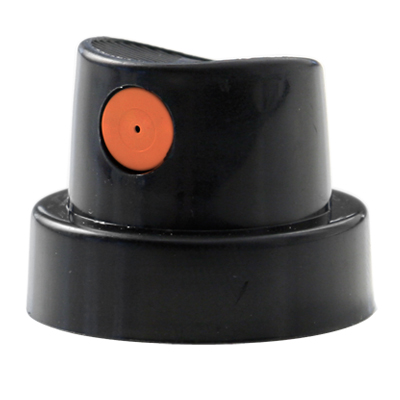 MEDIUM Cap HARDCORE schwarz-orange