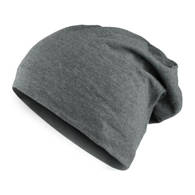 HEATHER JERSEY Summer Beanie black heather