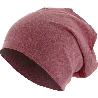 HEATHER JERSEY Summer Beanie magenta