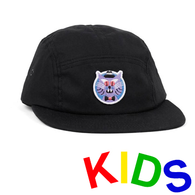 LASER 5Panel Cap HEDOF CAT black - Kids