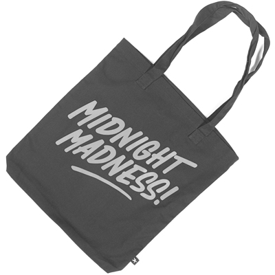 HEKTIK Tote Bag MIDNIGHT MADNESS black/grey