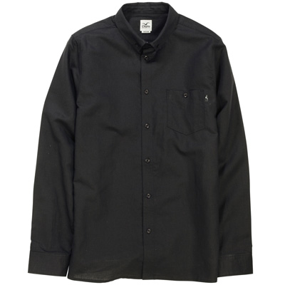 CLEPTOMANICX Shirt LINEN black